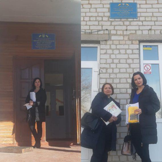Профорієнтаційна робота в Приморському, Василівському та Михайлівському районах.
