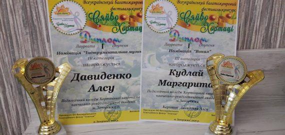 Лауреати 1 ступеня