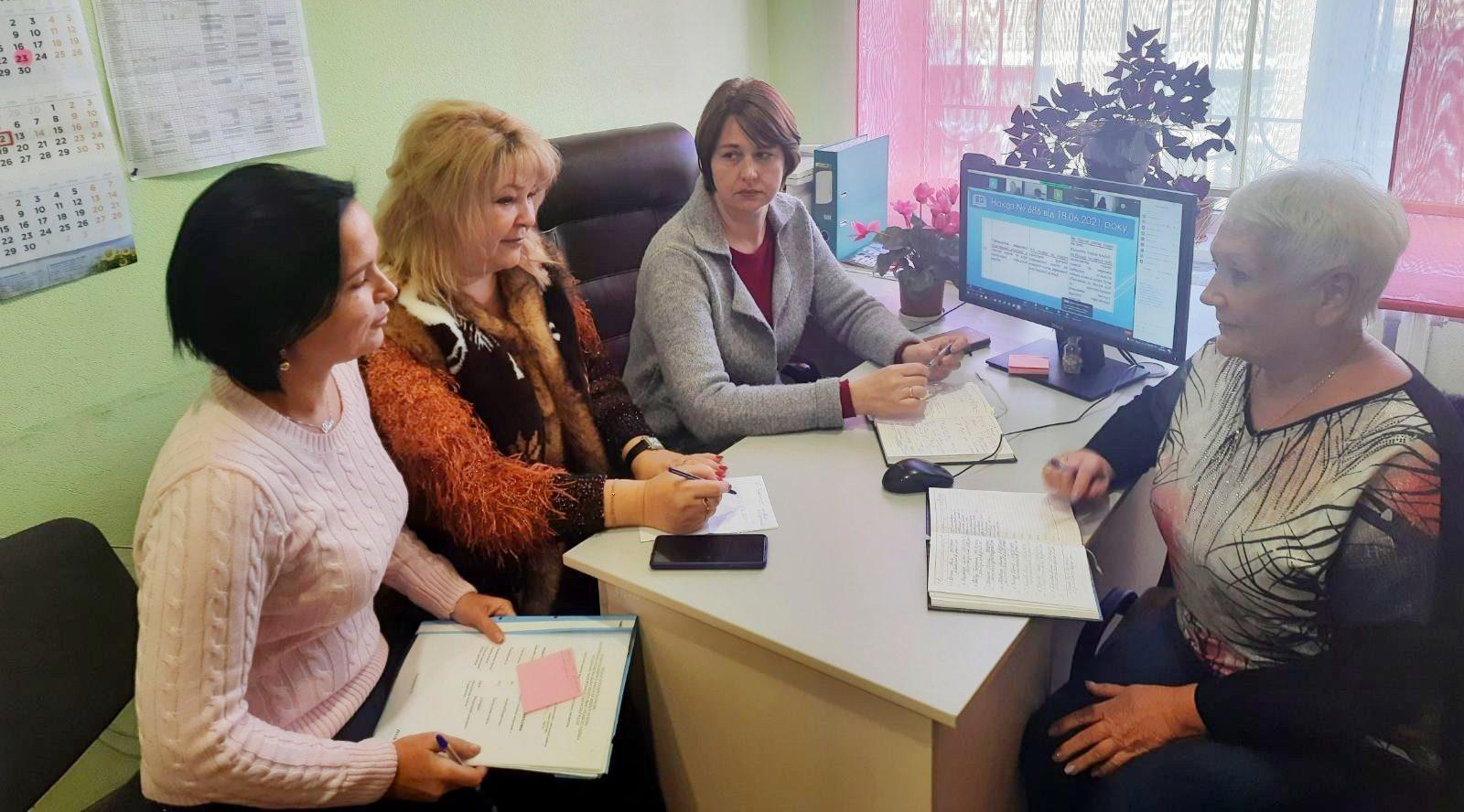 засідання Ради заступників директорів з навчальної роботи